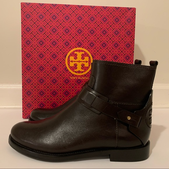 Tory Burch Shoes - 💫Tory Burch | Coconut Derby Leather Ankle Boots.